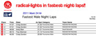 FASTEST NIGHT LAPS